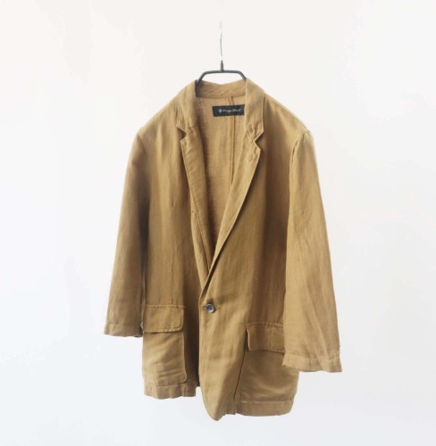 LOUNGE LIZARD linen jacket