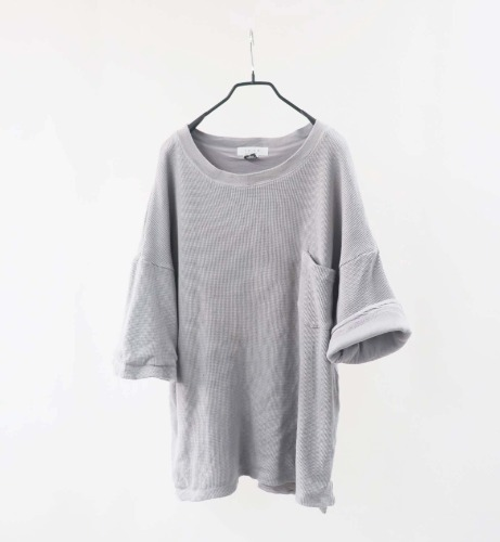 CALUX overfit heavy cotton T-shirt(USA made)