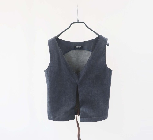 Neil Barrett denim top(Italy made)