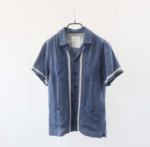 Eagle Bar Hotel linen shirt