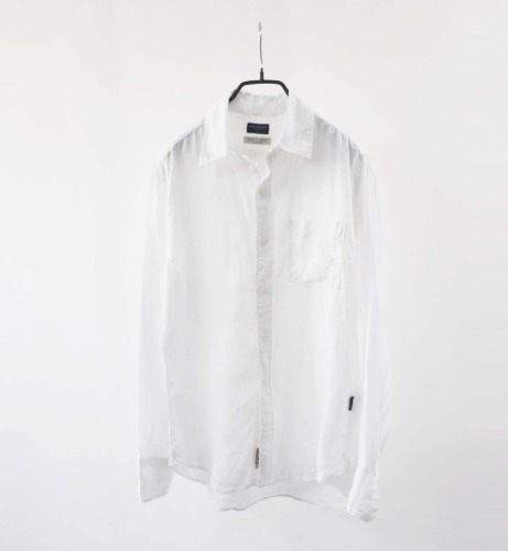 Back Number pure french linen shirt