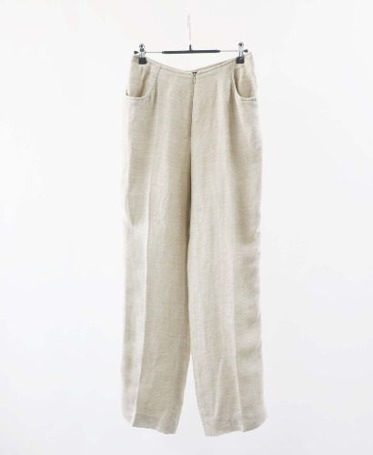 donna erre linen pants(Italy made)