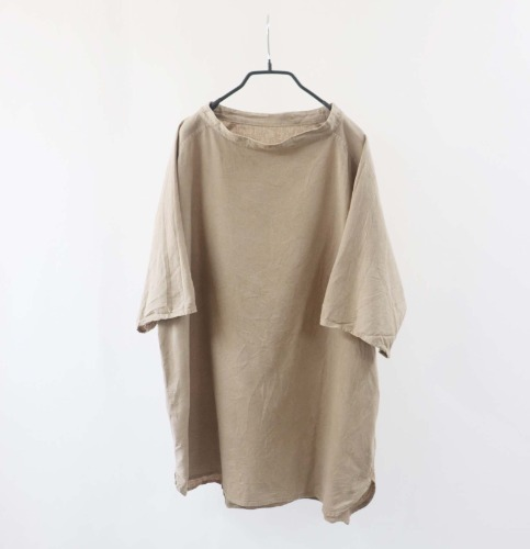 MITTAN enough silhouette linen long top