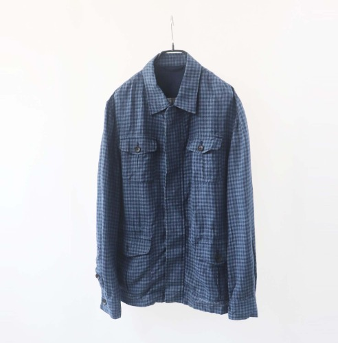 comme ca men linen jacket