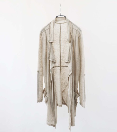 eterno bellezza linen long cardigan
