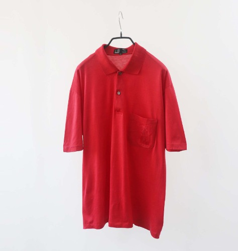 dunhill collar T-shirt(Italy made)