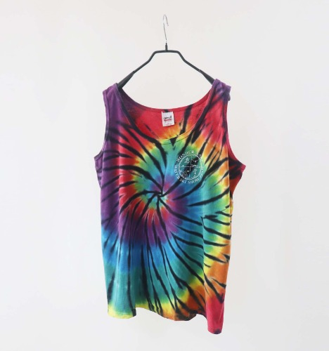 Anvil tie-dye sleeveless