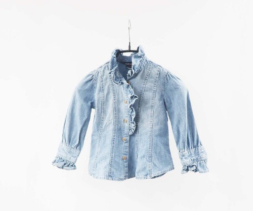 Ralph Lauren denim blouse(KIDS 2size)