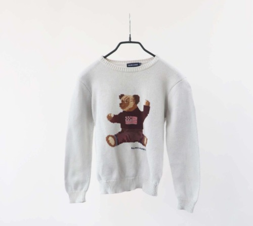 Ralph Lauren cotton knit(KIDS 120size)
