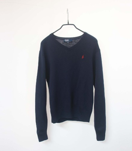 Ralph Lauren pure wool knit(Youth 150size)