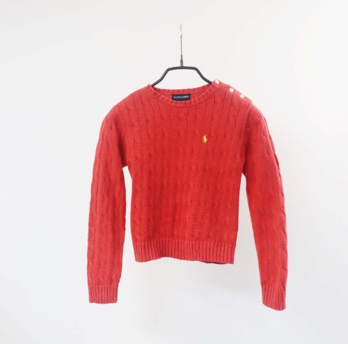 Ralph Lauren knit(KIDS 6size)