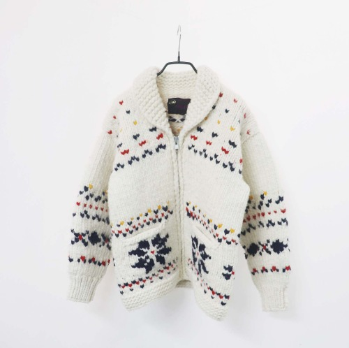 MERINO cowichan sweater(CANADA made)