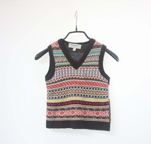 simonetta wool vest(Italy made & KID 130size)