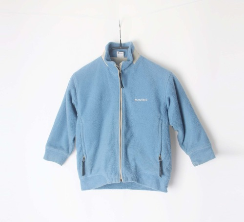 mont-bell zip-up fleece(KID 110size)