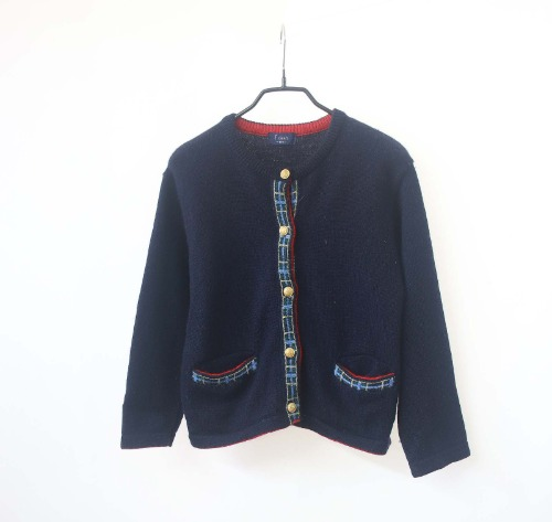 f dash pure wool cardigan(KID 130size)