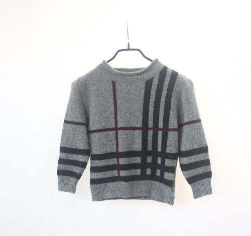 Buberry wool knit(KID 110size)