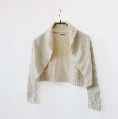 familiar cardigan(KID 120size)
