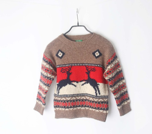 BENETTON knit(KID & Italy made)