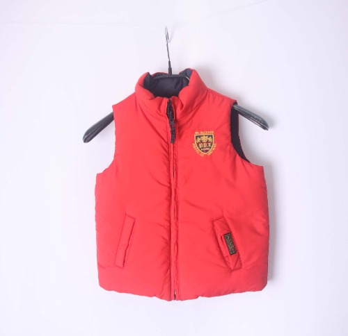 Ralph Lauren reversible down padding vest(KIDS 24Msize)