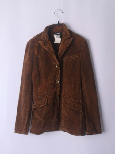 D&G corduroy jacket(Italy made)
