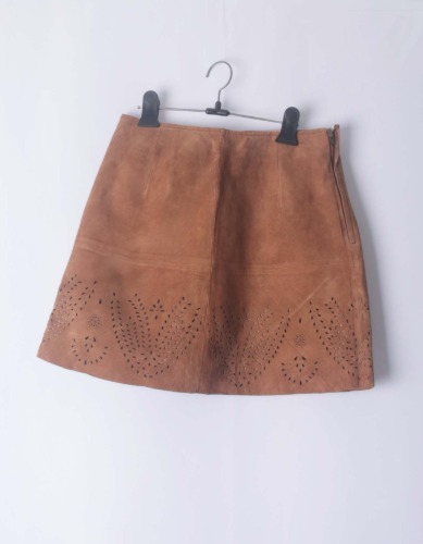 NINE dxc leather skirt