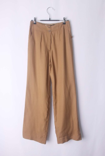 LANVIN enough silhouette pants