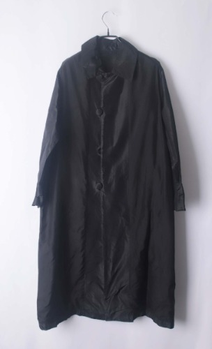 Paolo Bisagni reversible silk coat(Italy made)