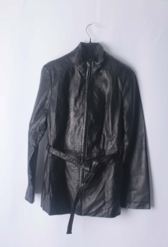 new york&company leather jacket