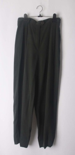 Gibierre donna high waist pants(Italy made)