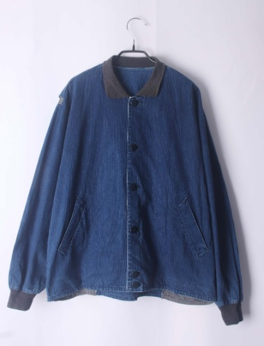 cross breed indigo enough silhouette jacket