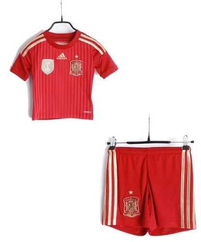 adidas 2010 world cup Spain jersey(BABY 100size)