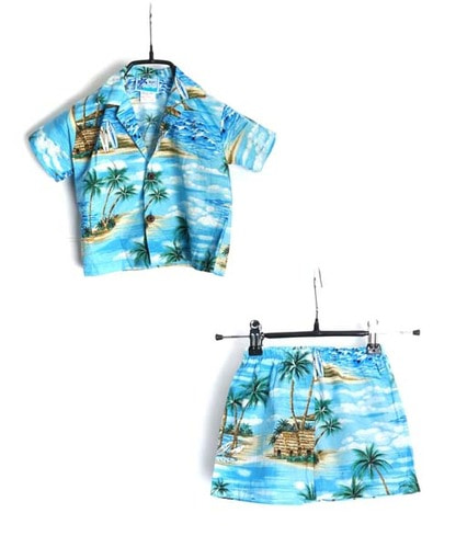 RJC hawaii made suit(KID 18Msize)