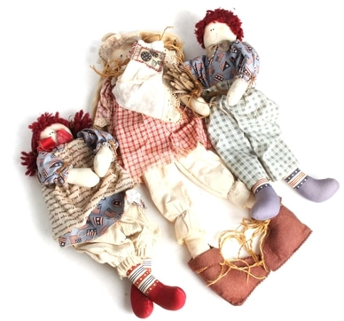 Hand made doll(3EA)