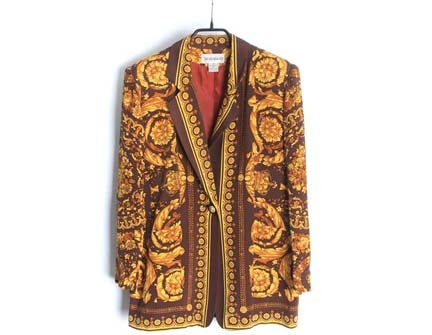 SHARAGANO silk jacket