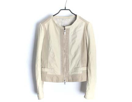 Brahmin lamb leather jacket