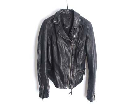 Bershka sheep skin rider jacket