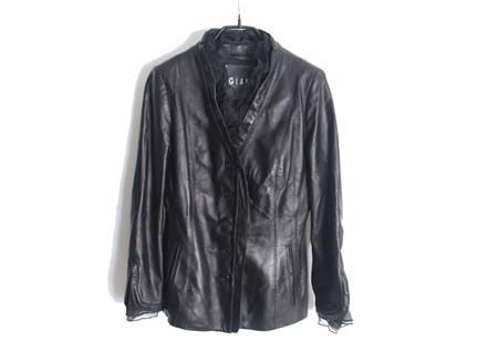 GIANI leather jacket(Italy made)
