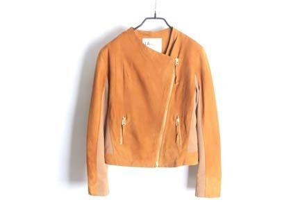 LALLEGRO suede lamb leather jacket