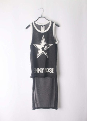 Denny rose jersey top(Italy made)